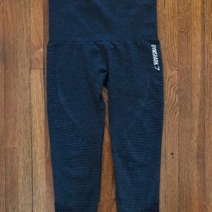 Gymshark Pants - Gymshark High Waisted Seamless Cropped Leggings